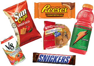 Brand name vending products